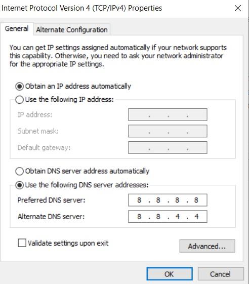 แก้เว็บ พนันบอล โดนบล็อค DNS