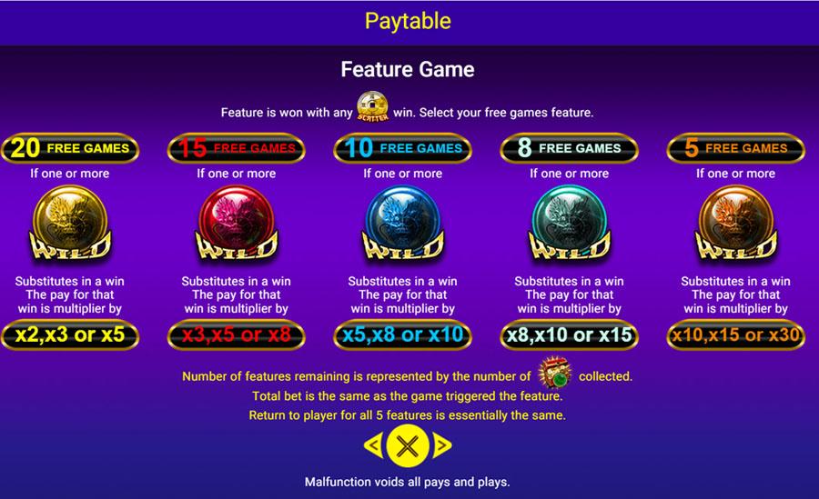เกมสล็อต 5 Fortune Dragons SpadeGaming