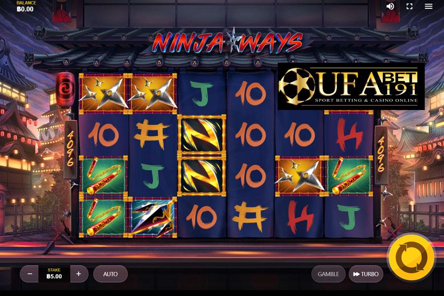 RT เกมสล็อตออนไลน์ Ninja Ways