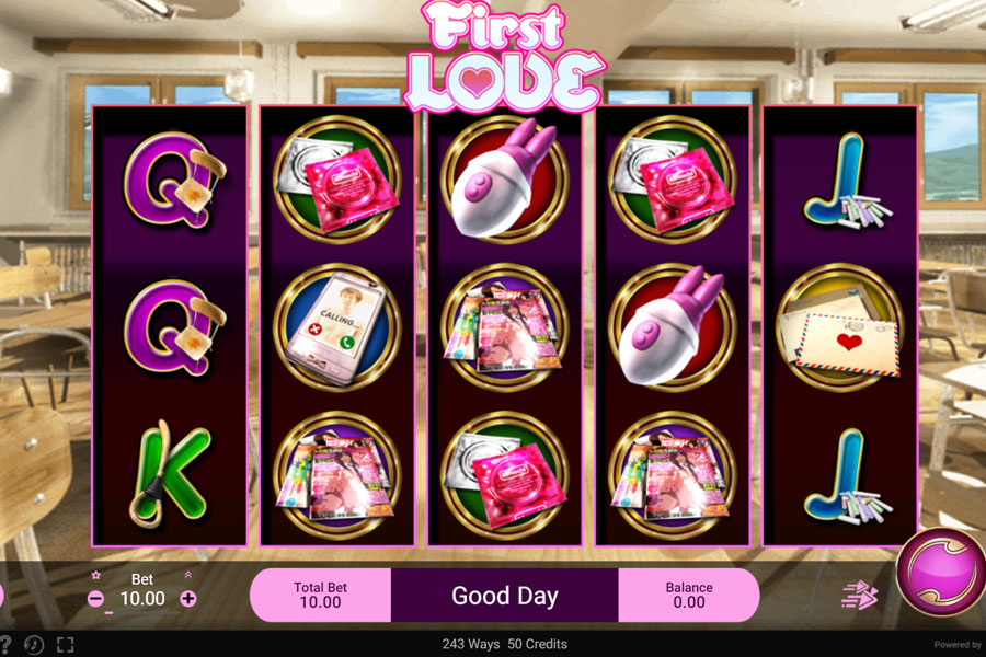 Spade Gaming เกมสล็อต First Love 2