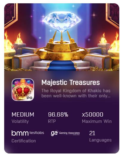 Majestic-Treasures-pgslot-เครดิตฟรี