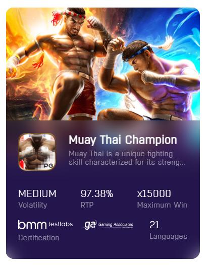 Muay-Thai-Champion-pgslot-ฟรีเครดิต