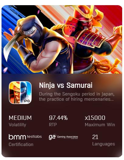 PG-Slot-ฟรีเครดิต-Ninja-vs-Samurai