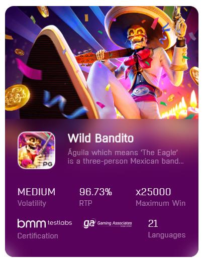 pgslot wild bandito demo